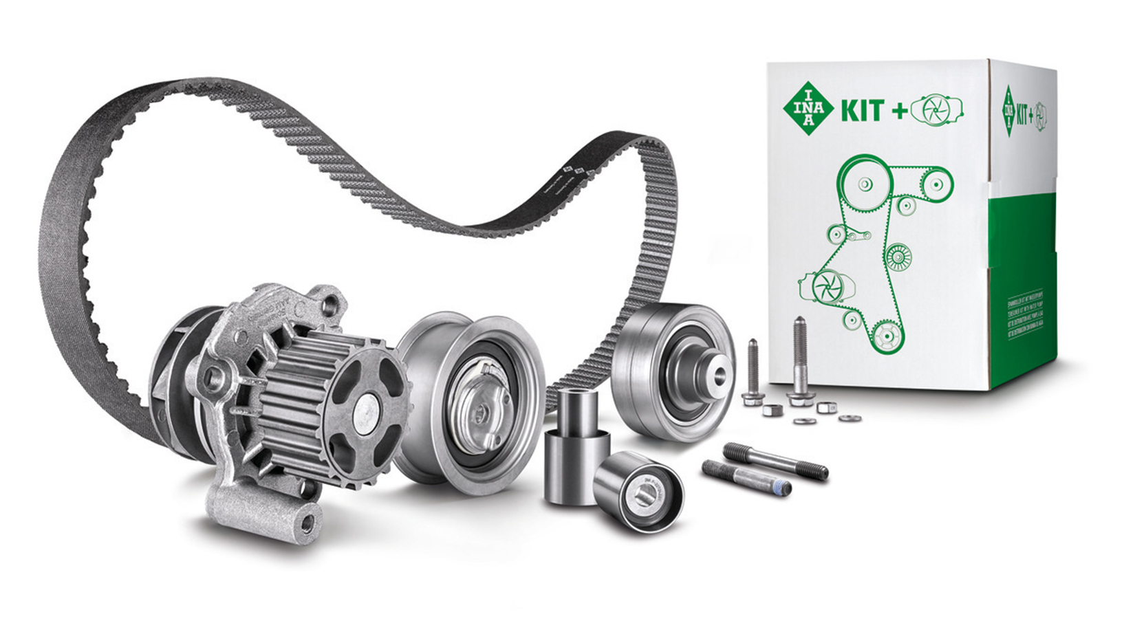 INA Timing Belt KIT with Water Pump